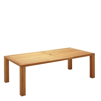 """Square 93"""" Rectangular Dining Table"""