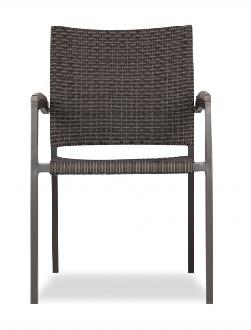 Kompass Wicker Dining Arm Chair