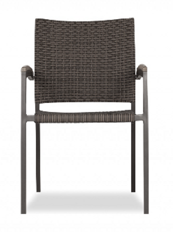 Kompass Wicker Dining Arm Chair