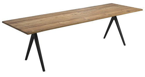"Raw Split 177"" Rectangular Dining Table"