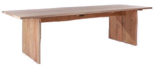 "Live Edge 78"" Rect Dining Table"