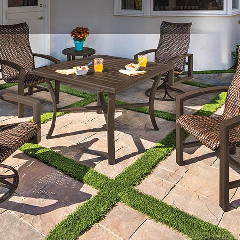 Tropitone Outdoor Furniture Woven Collection