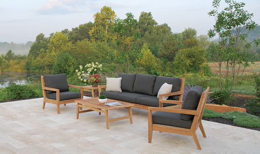 Kingsley Bate Algarve Sofa and Lounge Chairs