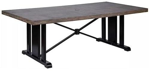 """Bella 84"""" Rect Dining Table"""