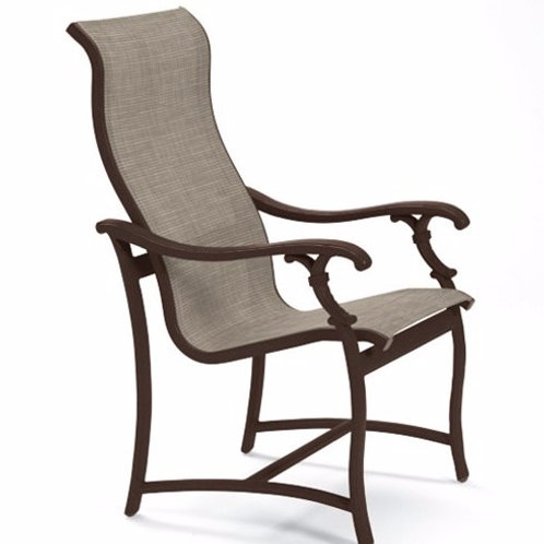 Tropitone Ravello Sling High Back Dining Chair