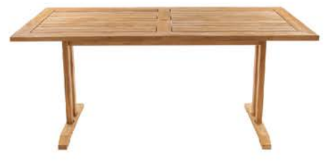"""Corsica 71"""" Rect Dining Table"""