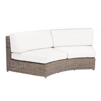 Sag Harbor Curved Armless Sofa