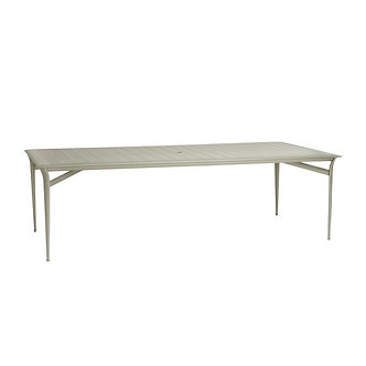 "Flight 99"" Rect Dining Table w/Aluminum Top"