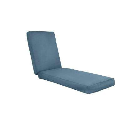 Boxed and Welted Chaise Cushion