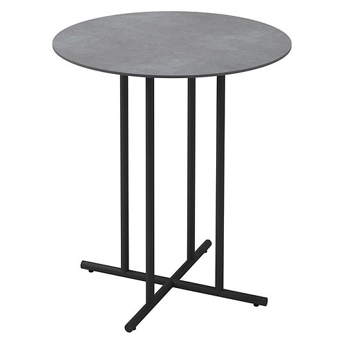 "Whirl 35"" Rd Bar Table w/Ceramic Top"