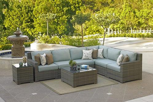 Malibu 6 Cushion Sectional