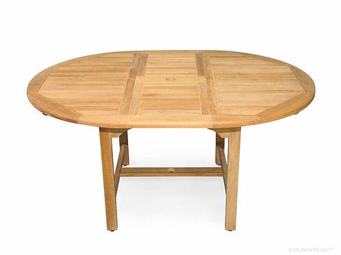 Gloster, Brown Jordan, Kingsley Bate, Barlow, Oval Extension Table, Large Teak Oval Extension Table