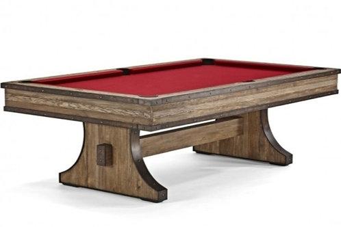 Brunswick Billiards Edinburgh 8' Table - Weathered Oak