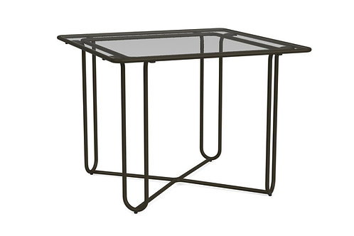 "Brown Jordan Walter Lamb 38"" Glass Dining Table"