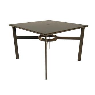 "Brown Jordan Infinity Edge 42"" Sq Dining Table"