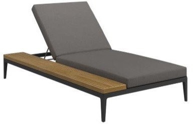 Grid Double Lounger Left