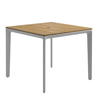 "Carver  35"" sq Table - Teak Dining"