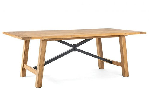 """Truss 84"""" Rect Dining Table"""