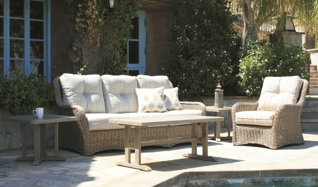 Patio Renaissance South Bay Sofa and Lounge Chair