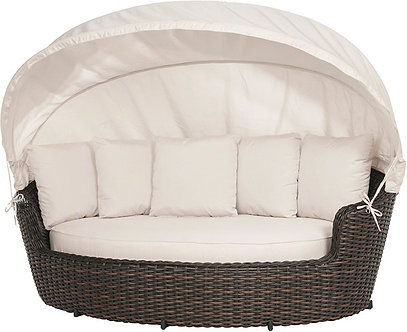 Dreux Wicker Daybed