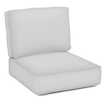Boxed Club Chair Cushion