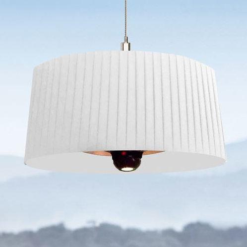 Shade Heated Lamp - White