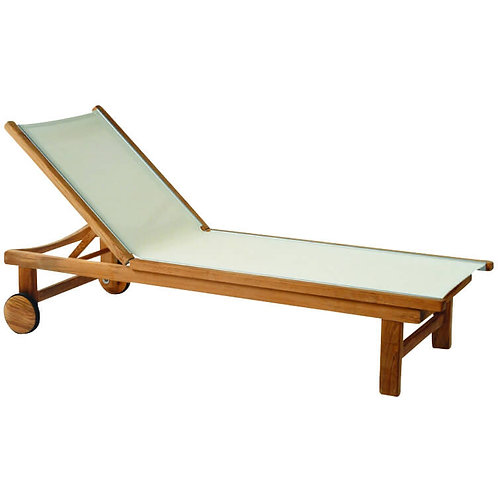 Kingsley Bate St Tropez Chaise Lounge