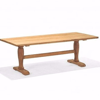"Hamptons 87"" Rect  Reclaimed  Dining Table"