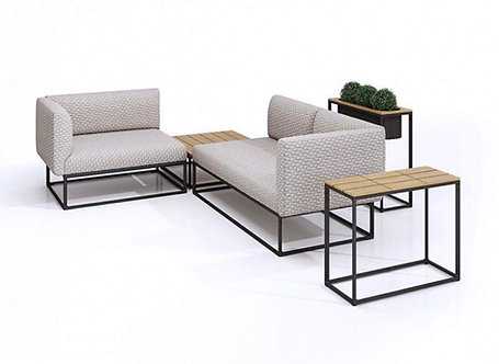 Maya Three-piece Sectional