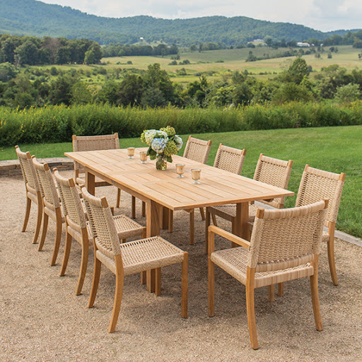 Kingsley Bate Hudson Dining Set Dining Table and Dining Chairs