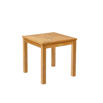 """Classic 20"""" Sq Side Table - 15"""" Tall"""