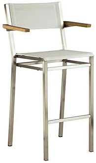 Equinox High Dining Chair - Arms