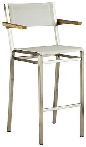 Barlow Tyrie Equinox Sling Counter Stool - Arms