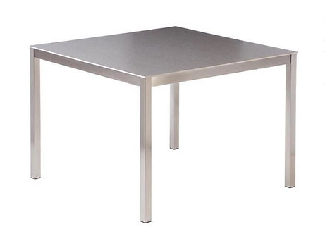 "Equinox 39"" Sq Ceramic Bistro Dining Table"