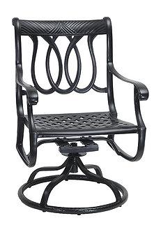 Largo Swivel Rocker Dining Chair