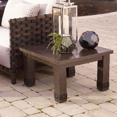 Plank & Hide Saba End Table