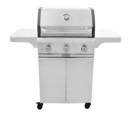 Saber 3 Burner Gas Grill Cast 500