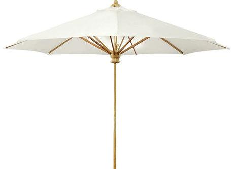Kingsley Bate 9' Teak Umbrella