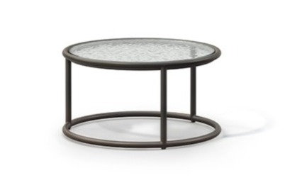 Walter Lamb Round Glass Side Table