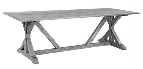 """Provence 96""""  Rect Dining Table"""