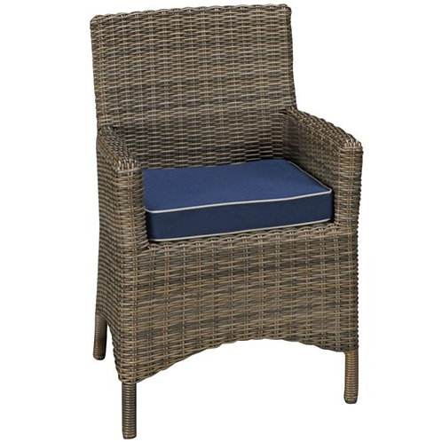 Deep Seating Arm Chair, North Cape International Bainbridge, NCI Bainbridge, North Cape International Cabo, NCI Cabo, Brown J