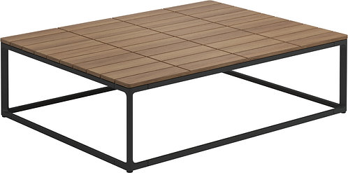 "Maya 30"" x 40"" Coffee Table Teak"
