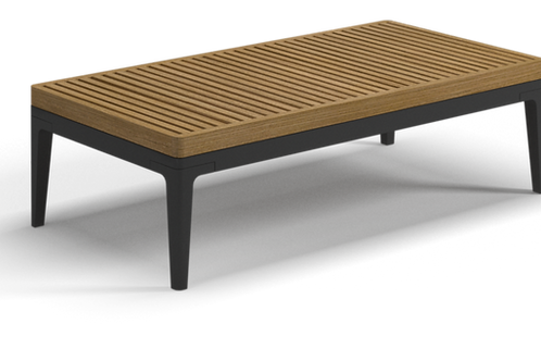 "Gloster Grid 20"" x 40.5""  Coffee Table"