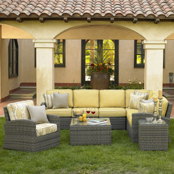 Bainbridge Sectional and Lounge Chair and Side Table