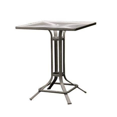 """Brown Jordan Quantum 32"""" Square Bar Table"""