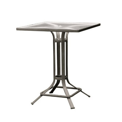 "Brown Jordan Quantum 32"" Square Bar Table"