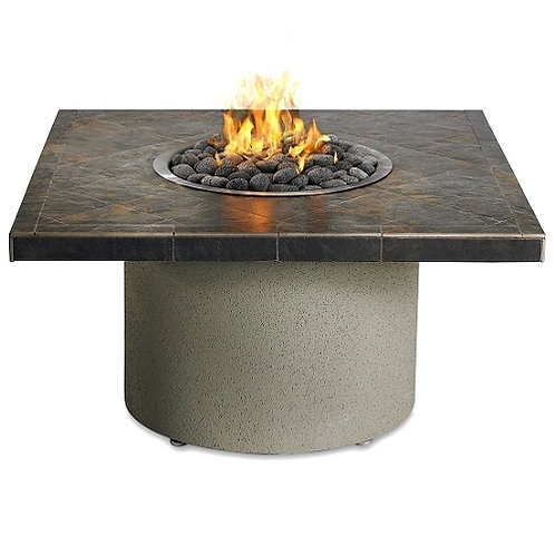 "Falcon 44"" Square Fire Pit w/Ice Bucket"