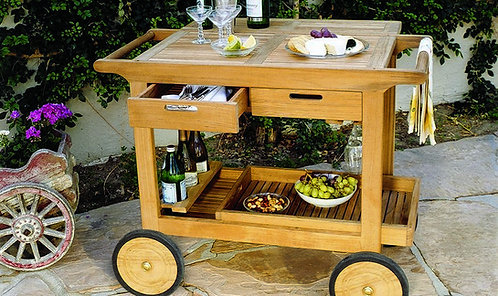 Kinglsey Bate Serving Cart