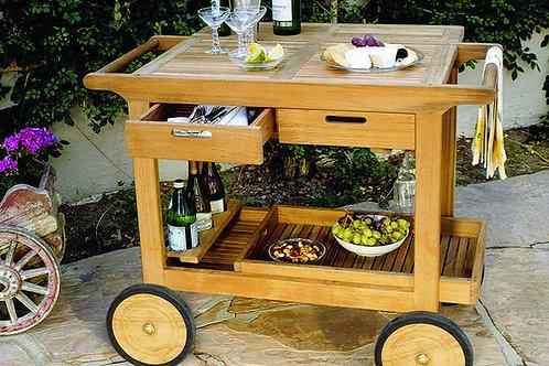 Kinglsey Bate Serving Cart