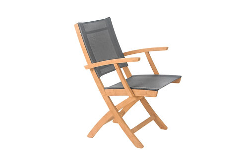 Malta Folding Arm Chair